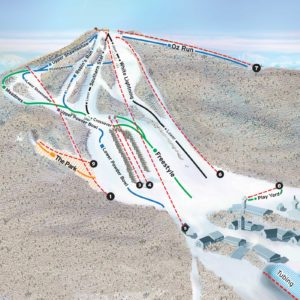 Beech Mountain Ski Slope Map
