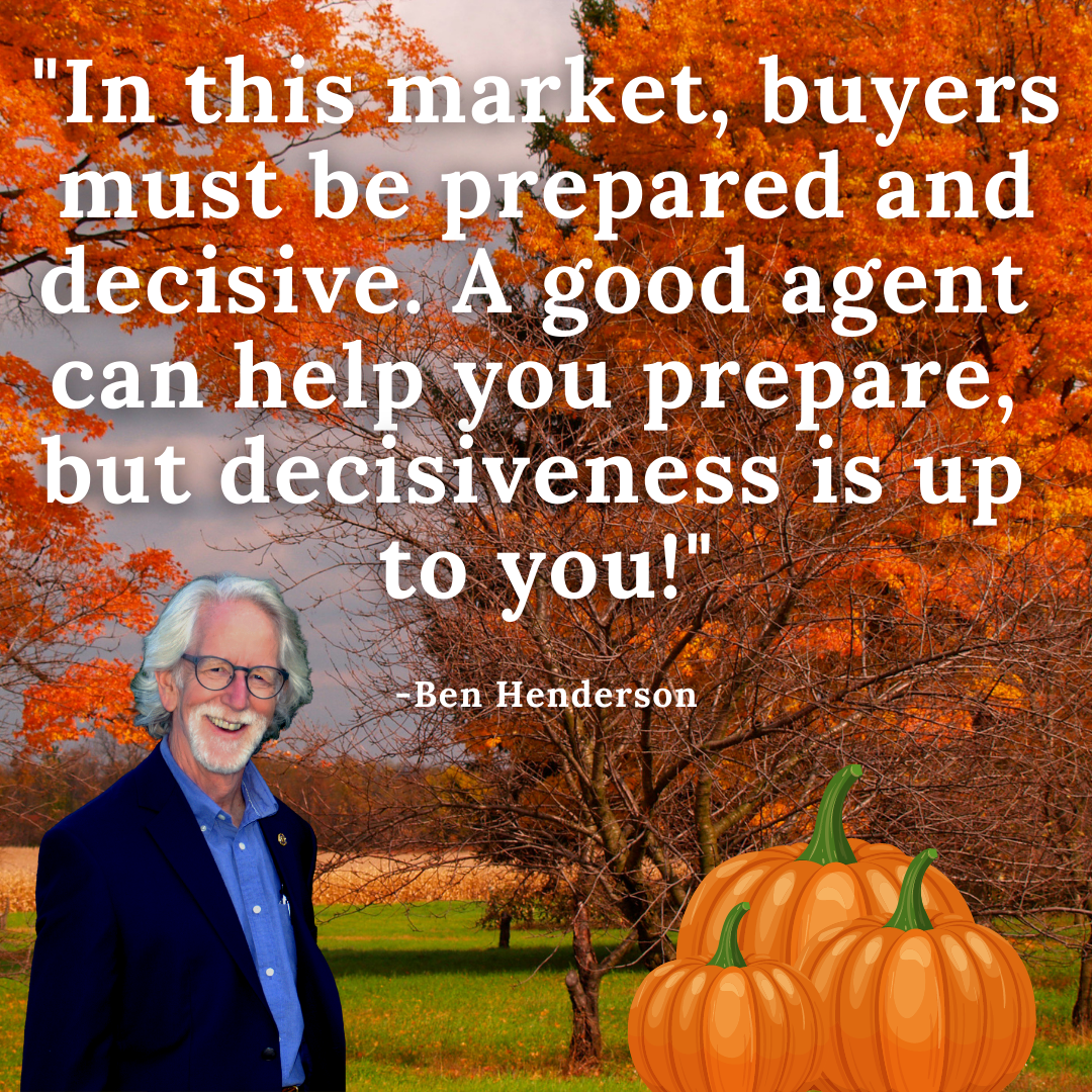 Ben, Fall Background, Real Estate Advice